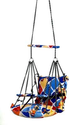 DD RETAIL Baby Swings(0-2 Years) Jhula Wooden Swing(Blue)
