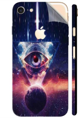 Snooky Apple iPhone 7 Mobile Skin Multicolor