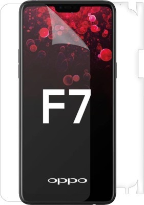 Snooky Front and Back Screen Guard for OPPO F7(Pack of 1)