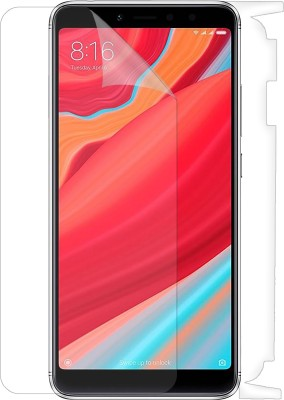 Case Designer Front and Back Screen Guard for Mi Redmi Y2(Pack of 2)