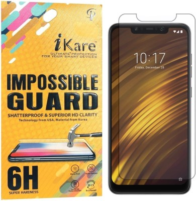 iKare Impossible Screen Guard for POCO F1(Pack of 1)