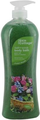 Skin Cottage BATH SCRUB GREEN TEA 1L Scrub(1000 ml) 1