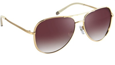 7745c214cd 40% OFF on Macv Eyewear Brown Aviator on Jabong