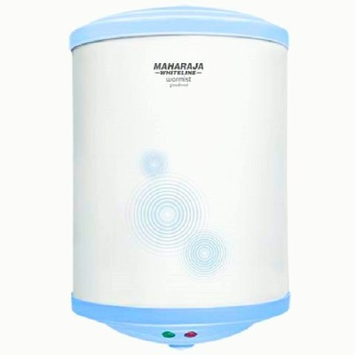 Maharaja Whiteline 25 L Storage Water Geyser (WARMIST, White)