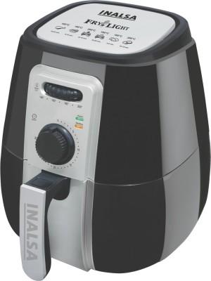 Inalsa Air Fryer-Fry Light Air Fryer(4.2 L), Black
