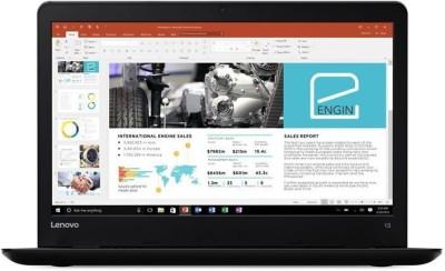 Lenovo ThinkPad 13 (2nd Gen) Celeron Dual Core - (4 GB/128 GB SSD/Windows 10 Pro) 20J10046US Laptop(13.3 inch, Black)