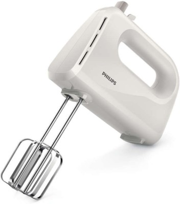 Philips Daily Collection HR3700 Hand Mixer 200 W Hand Blender(White)