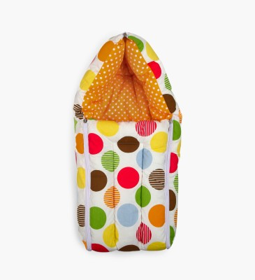 Miss & Chief Baby Polka and Orange Sleeping Bag(Orange)