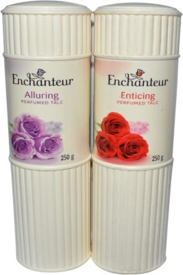 Enchanteur Enticing And Alluring Perfumed Talc 500g(500 g)