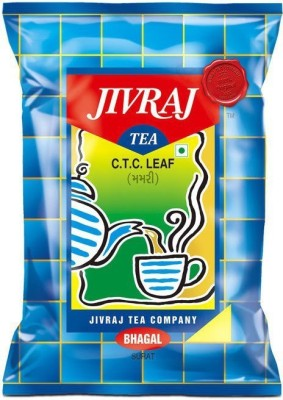 Jivraj Fresh Unflavoured Black Tea(499 g, Pouch)  available at flipkart for Rs.190