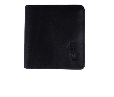 Aadau Men Casual Black Genuine Leather Wallet 13 Card Slots