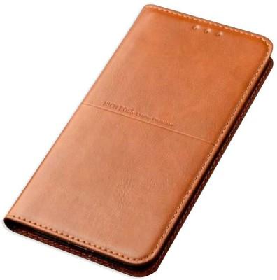 breel Flip Cover for Oppo F3 Brown