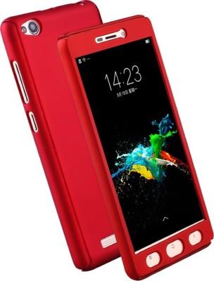 Kolorfame Front   Back Case for Mi Redmi 3S Prime Red