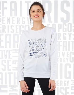 Metronaut Full Sleeve Graphic Print Women Sweatshirt Metronaut Women's Sweatshirts