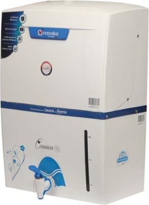 Nasaka Cosmos S1 11L RO+UV Water Purifier (White)