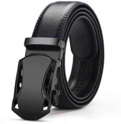 Satyam Kraft Men Formal Black Artificial Leather Belt