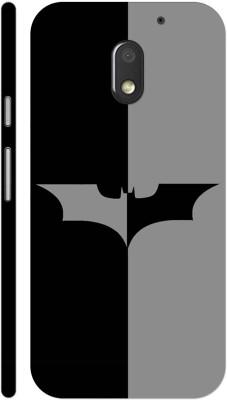 MV Back Cover for Motorola Moto E3 Power(Black, Grip Case)