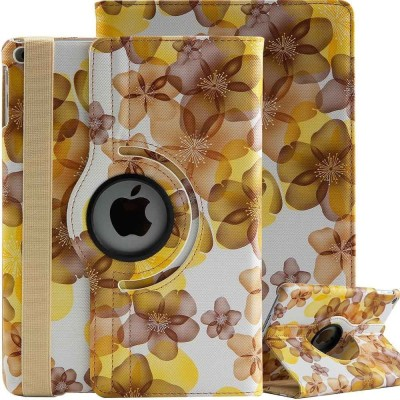 TGK Book Cover for Apple iPad 5th Gen 9.7 inch, Apple iPad 6th Gen 9.7 inch(Yellow, Cases with Holder)