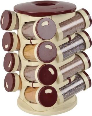 INDMART   100 ml Plastic Spice Container Multicolor