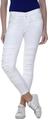 Nifty Slim Women White Jeans