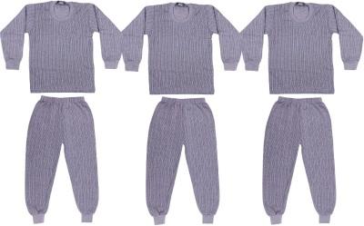 Belmarsh Top - Pyjama Set For Boys(Grey, Pack of 6)