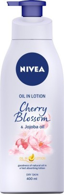 NIVEA Cherry Blossom and Jojoba Oil in Lotion(400 ml)