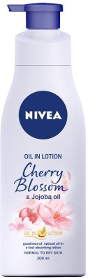 NIVEA Cherry Blossom and Jojoba Oil in Lotion(200 ml)