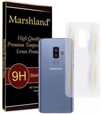 Marshland Back Screen Guard for Samsung Galaxy S9 Plus Rainbow Effects(Pack of 1)