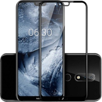 7Rocks Tempered Glass Guard for Nokia 6.1 Plus(Pack of 1)