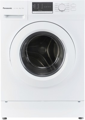 Panasonic 8 kg Fully Automatic Front Load Washing Machine White(NA-128XB1W01) (Panasonic)  Buy Online