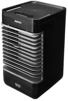 Simxen 110-220v Mini Handy Cooler Evaporative Air Cooler Air Conditioner Cooler Personal Space Cooling Fan Room Air Cooler(Black, 10 Litres)