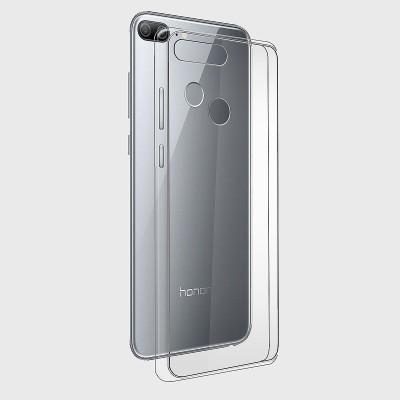 IMPACTICA Back Cover for Honor 9 Lite(Transparent, Anti-radiation, Flexible Case)