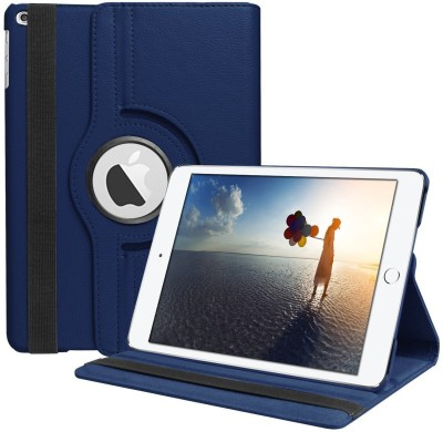 TGK Book Cover for Apple iPad 9.7 inch 2018, iPad 2017 (A1893, A1954, A1822, A1823)(Blue, Cases with Holder, Leather)