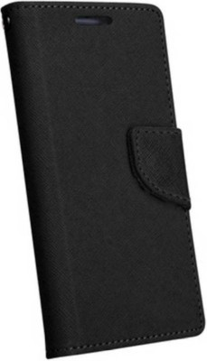 MBCASE Flip Cover for Motorola Moto G6 Black, Artificial Leather
