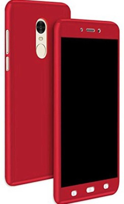 Kolorfame Front   Back Case for Mi Redmi Note 4 Red