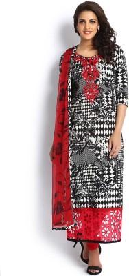 Soch Cotton Printed Salwar Suit Dupatta Material(Un-stitched)