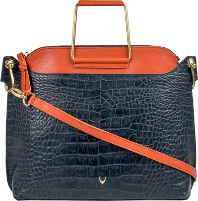 Hidesign Women Blue Shoulder Bag at flipkart