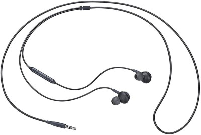 bringworld Earphone Akg Earp Wired Headset with Mic(withe, Black, In the Ear)