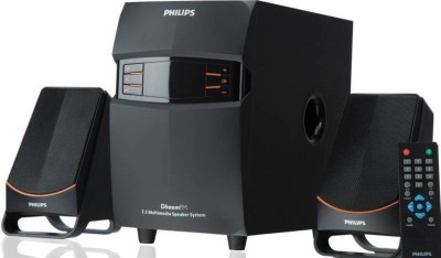 Philips MMS2550B/94 Dhoom Bluetooth Home Theatre(Black, 2.1 Channel)
