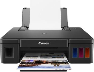 Canon Pixma Ink Efficent G1010 Single Function Printer(Black, Refillable Ink Tank)
