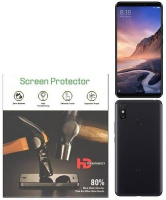 QuikDeal Front and Back Screen Guard for REDMI MI MAX 3(Pack of 1)