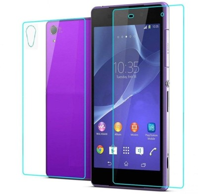 FIRST MART Front and Back Screen Guard for Sony Xperia Z2(Pack of 1)