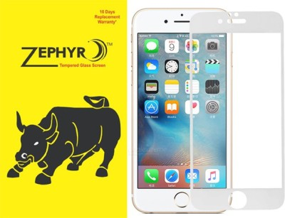 Zephyr Edge To Edge Tempered Glass for Apple Iphone 7 /Iphone 8 (5D TemperedGlass)(Pack of 1)
