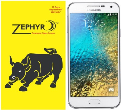 Zephyr Tempered Glass Guard for Samsung Galaxy E5(Pack of 1)