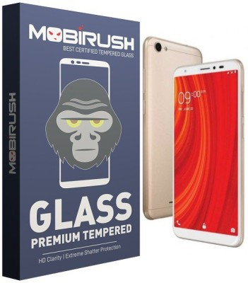 MRNKA Tempered Glass Guard for Lava Z61(Pack of 1)