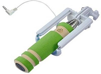 WaiiTech Cable Selfie Stick(Green) Flipkart
