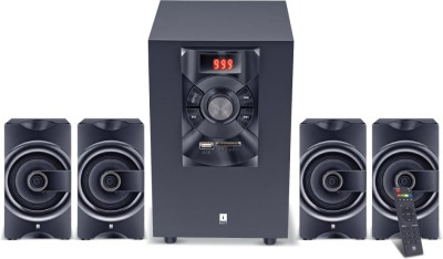 iBall SoundKing i3 4.1 35 W Bluetooth Home Theatre(Black, 4.1 Channel)