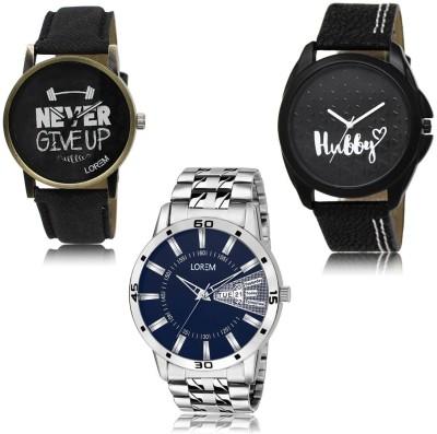 LOREM Analog Digital Watch   For Men LOREM Wrist Watches