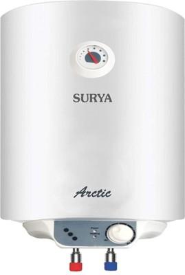 SURYA 25 L Storage Water Geyser (ARCTIC GLASSLINED, White)