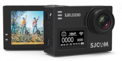 SJCAM SJ6 Legend SJCAM SJ6 Legend Sports and Action Camera Black, 16.36 MP SJCAM Sports   Action